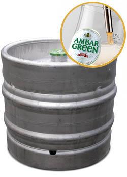 Barril de Cervezas Ambar Barril Sin
