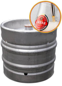 Barril de Cervezas Ambar Barril Especial