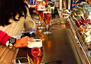 Distribuidor de Cervezas Ambar para bares